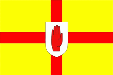 Ulster Flagge 90x150 cm