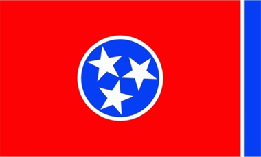 Tennessee Flagge 90x150 cm