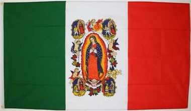 Lady of Guadalupe Flagge 90x150 cm