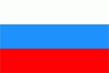 Russland Bootsflagge 30x40 cm