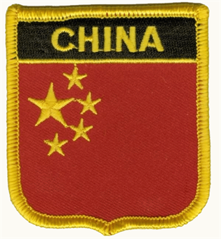 China Wappenaufnäher / Patch