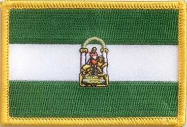 Andalusien Aufnäher / Patch
