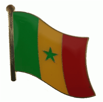 Senegal Pin