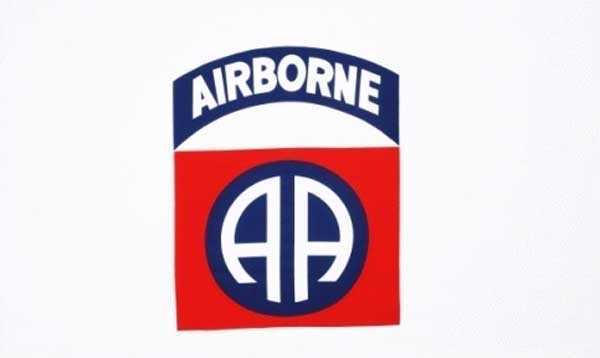 82nd Airborne (Luftlandedivision) Flagge 90x150 cm