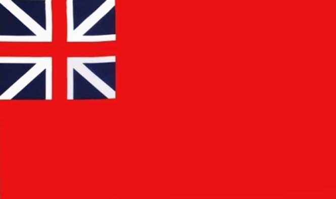 British Red Ensign (1707-1801) Flagge 90x150 cm