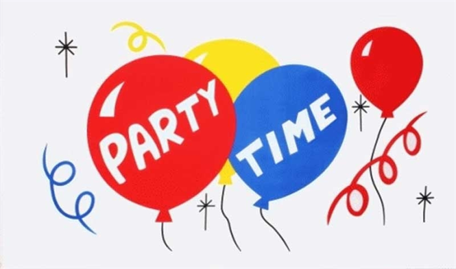 Party Time Bootsflagge 30x40 cm