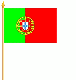 Portugal Stockflagge 30x45 cm