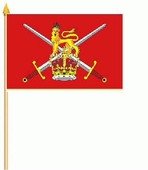British Army Ensign Stockflagge 30x45 cm