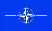 NATO (North Atlantic Treaty Org.) Flagge 90x150 cm