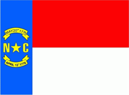 North Carolina Flagge 90x150 cm