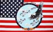Wings Over America Flagge 90x150 cm