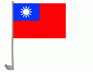 Taiwan (Republik China) Autoflagge 30x40 cm