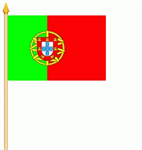 Portugal Stockflagge 30x40 cm