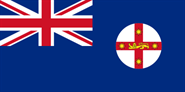 New South Wales Flagge 90x150 cm