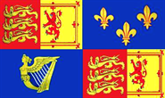 Royal Banner 1707-14 Flagge Queen Anne 90x150 cm