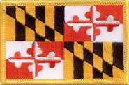 Maryland Aufnäher / Patch