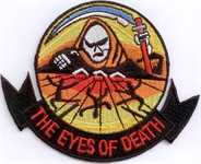 The Eyes of Death Aufnäher / Patch