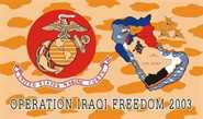 Irak Operation Iraqi Freedom Flagge 90x150 cm