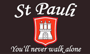 St. Pauli You'll never walk alone Flagge 90x150 cm