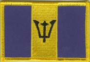 Barbados Aufnäher / Patch