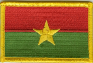 Burkina Faso Aufnäher / Patch