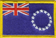 Cook Islands Aufnäher / Patch