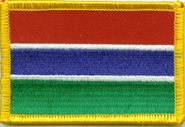 Gambia Aufnäher / Patch