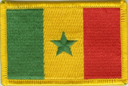 Senegal Aufnäher / Patch