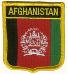 Afghanistan Wappenaufnäher / Patch