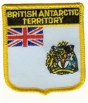 British Antarktis Wappenaufnäher / Patch