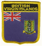British Virgin Islands Wappenaufnäher / Patch