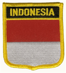 Indonesien Wappenaufnäher / Patch