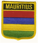 Mauritius Wappenaufnäher / Patch