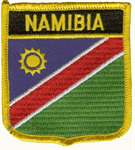 Namibia Wappenaufnäher / Patch