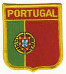 Portugal Wappenaufnäher / Patch
