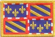 Burgund (Region) Aufnäher / Patch