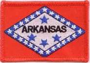Arkansas Aufnäher / Patch