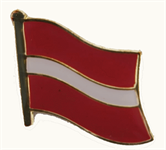 Lettland Pin